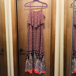 Beautiful Patterned Maxi Dress